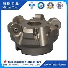 Zhuzhou CNC Lathe Machine Cutting Tools Indexable Tungsten Carbide Milling Cutters