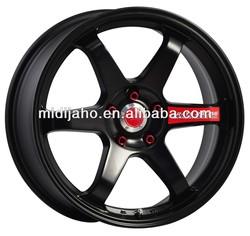 BLACK RAYS VOLK RACING TE37 Wheel Rims/RAYS VOLK WHEEL RIM