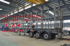 35 Tons Payload 3 Axles Log Trailer