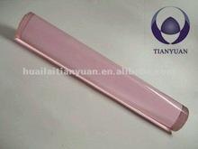 1220mm borosilicate pink heater glass rod
