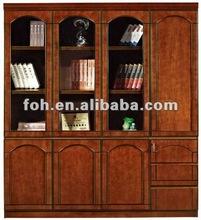 USA hot sale modular mahogany wooden office filing cabinets (FOHS-B401)