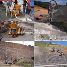 LZ-5A air motor drive concrete tunnel equipment construction shotcrete machine