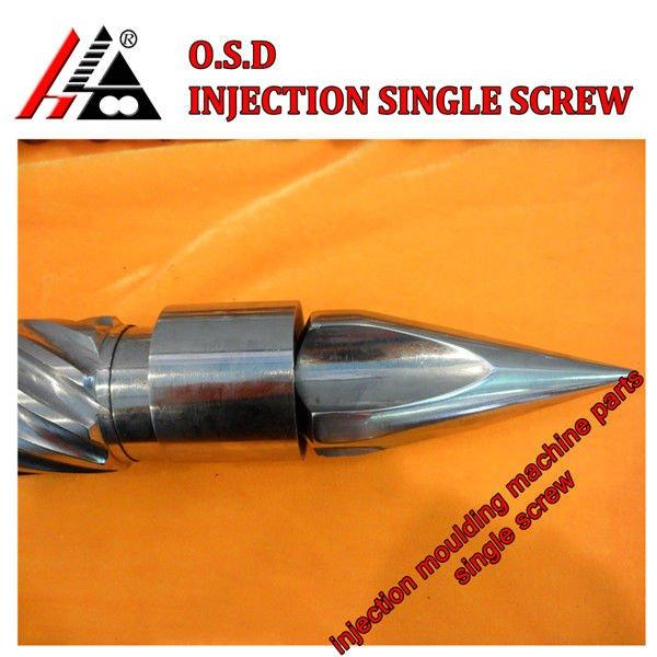 Máquina de inyección de piezas de repuesto / boquilla de componentes electrónicos / tornillo de tapa de la boquilla