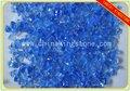 Luz azul de vidro batatasfritas - vidro reciclado