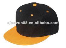 2012 promotion custom two tone blank flat bill snapback caps
