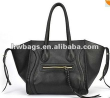black leather ladiesbag