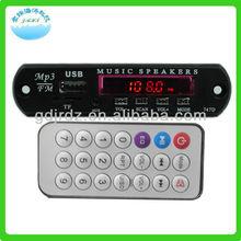 AUDE-Q5 LED screen 5-12V usb sd /mmc mp3 decoder board player