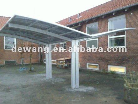 Policarbonato cocheras para techos garajes marquesinas y for Techos de policarbonato para garage