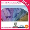 Metallic pigments powder coating