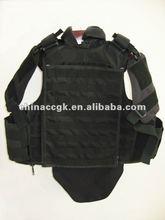 kevlar balísticos armadura del cuerpo con el brazo y la ingle protección