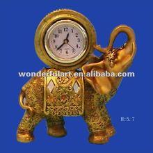 elephant clock wedding table decoration wholesale
