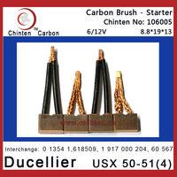 Ducellier USX 50-51(4) Starter Carbon Brush(6/12V)
