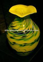 Elegant Handicrafted Antique Murano Glass Vases
