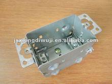 "Hot sales CETL certification 3""X2"" device box;gangable cabinet box"