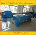 digital flatbed uv screen printing machine on rigid,flexible,corrugated material
