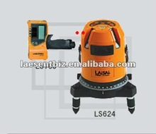 LS624-10 3 cross line & Plumb Laser 2V-1H-1D Electronic leveling laser Project 3 vertical line, form 3 cross lines Free Shipping