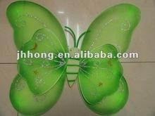 stock girl's green shining fairy wing wholesale