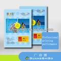 A3 üstün çift taraflı renkli kartvizit kağıt süslü, 250 gsm Profesyonel buiness kartı tasarım