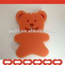 2012 hot bear shaped seaweed bath sponge