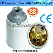 e27 e14 e40 copper or aluminum ring porcelain lamp holder