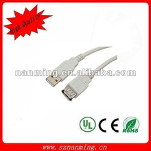 A/A USB extension cable,lots of colors for choosing