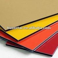 high quality PVDF/PET Coating decorative insulated aluminum roof panel
