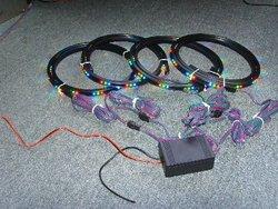 Waterproof auto LED Under Car kit, car accessories
