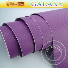 air bubble free auto vinyl wrap 3d carbon fiber foil the best quality