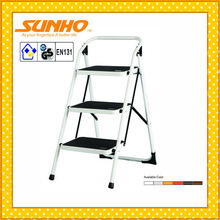 household steel pipe collapsible ladder