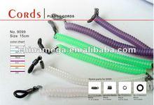 elastic spiral sports eyeglass cord