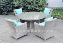 Rattan outdoor dinning furniture set