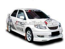 glass fiber body kit for Toyota Vios 2002-2005 bodykit