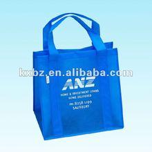 nonwoven blue laundry bag