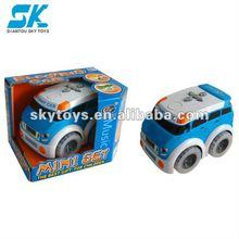 !New Style children plastic toy car R/C Program Car electric programme car Small Programme Car