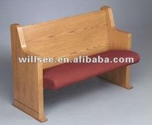 CH-B27,Wooden Church Pew,Church Bench,Church Chair