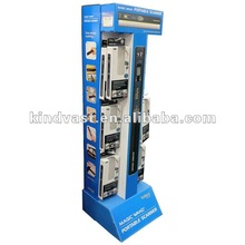 pop cardboard floor stand display for magic wand portable scanner