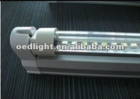 hot sell 0.6M t5 6W led tube light with transparent cover