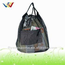 Outdoor Nylon Drawstring String Mesh Bag