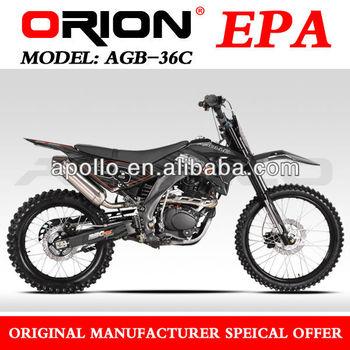 China Apollo ORION EPA air cooled 250cc off road dirt bike 250CC Dirt bike AGB38-2