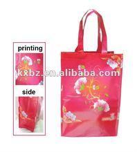 New design laminated resuable handbag