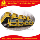 Sinotruk dump truck vehicle for transporting