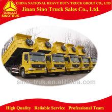 Sinotruk dump truck vehicle for transporting
