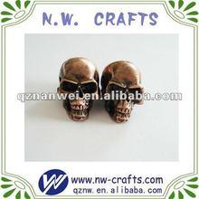 mini resin halloween skull,home decoration