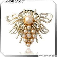 In New Design Arrival Fashion Butterfly Brooch For Winter JBXA025201
