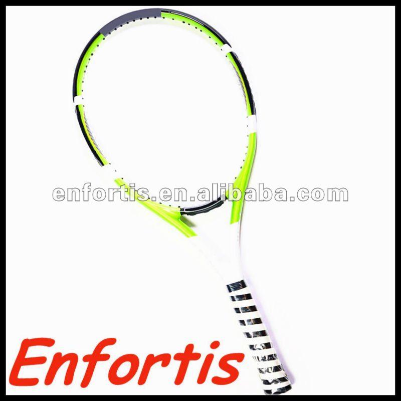 En fibre de carbone raquette de tennis/composite raquette de tennis