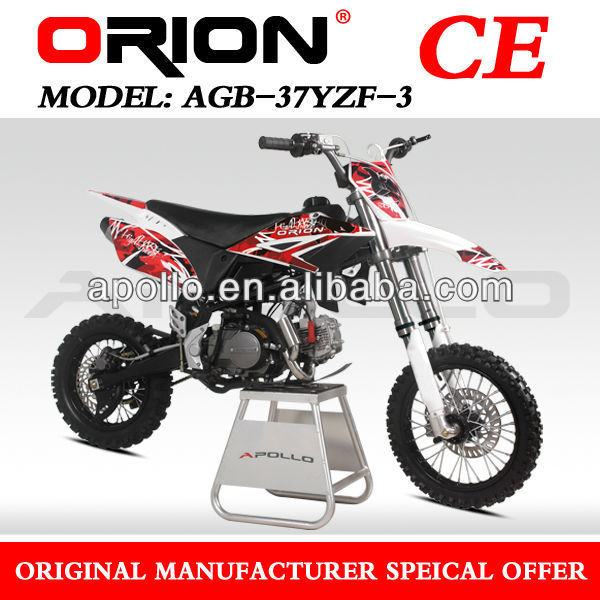 China APOLLO ORION CE 125CC Dirt Bike 125cc Racing Pit bike Off Road