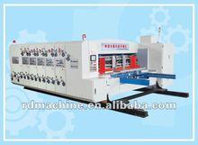 [RD-A1200-3000-4] 4 color corrugated carton automatic flexo printer slotter & die cutter