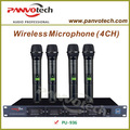 inalámbrico panvotech micrófonos de mano