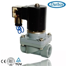 CPVC chemical solenoid valve for pure acetic acid