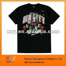 Cut New Black Men Stylish T-shirt